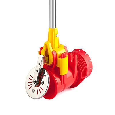 Universal backwater valve for concrete wells